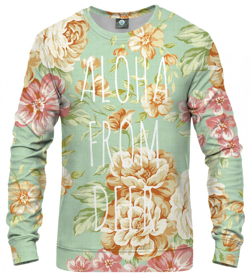 bluza z motywem kwiatów