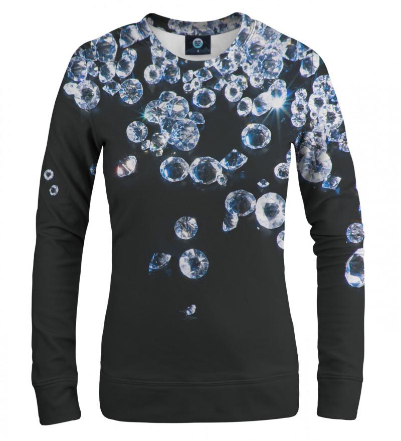 damska bluza z motywem diamentów