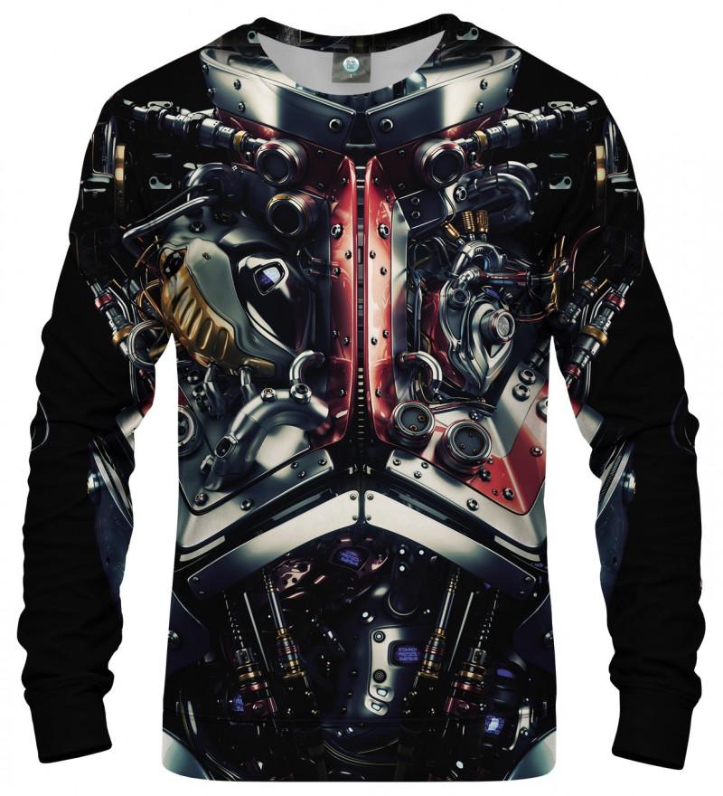 sweatshirt with machine motive