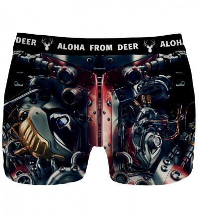 underwear with machine motive
