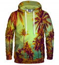 hoodie with plamtrees motive