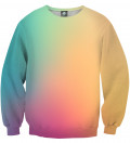 Colorful ombre Sweatshirt