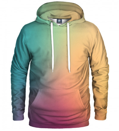hoodie with colorful ombre motive