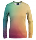 Colorful ombre women sweatshirt