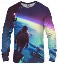 bluza z motywem przestrzeni kosmicznej