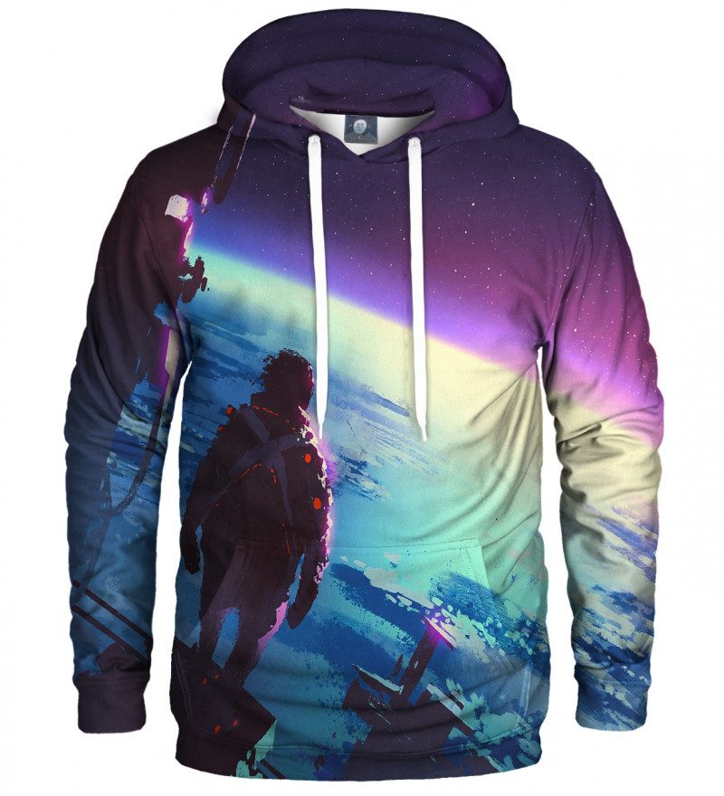 hoodie with space motive