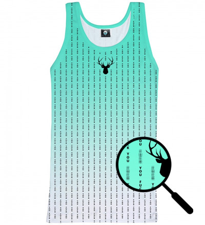 tank top with fk you inscription