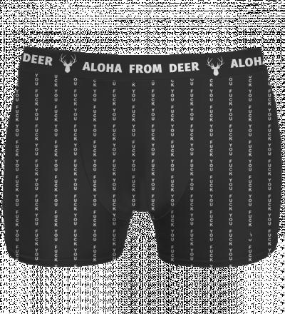 black underwear with fk you inscription