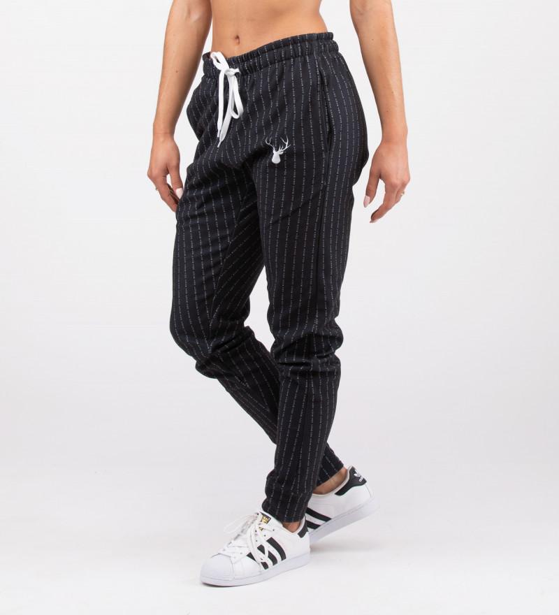 black women sweatpants with fk you inscription