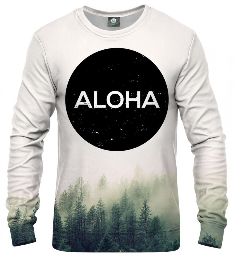 bluza z napisem aloha