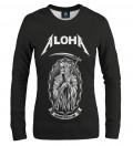 Black death women sweatshirt