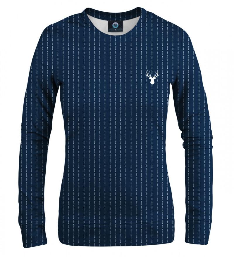 navy sweatshirt with fk you inscription