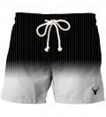 Fk you fade black shorts