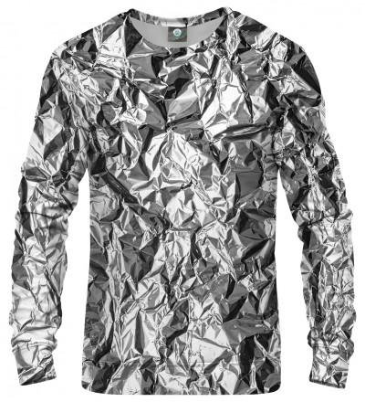 bluza z efektem srebra