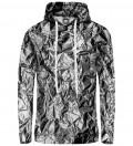 Silver women hoodie