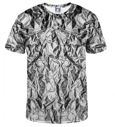 tshirt with silver effect