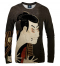 Kabuki illusion women sweatshirt