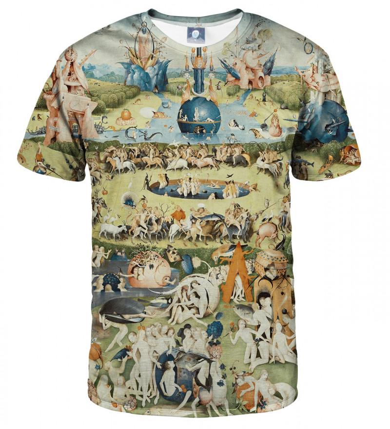 koszulka z motywem ogrodu