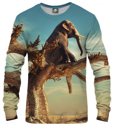 bluza z motywem słonia