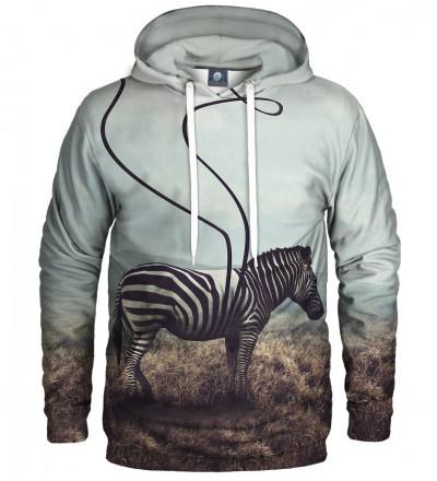 bluza z motywem zebry