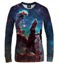 Pillars of creation women sweatshirt