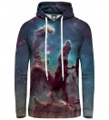 Pillars of creation women hoodie
