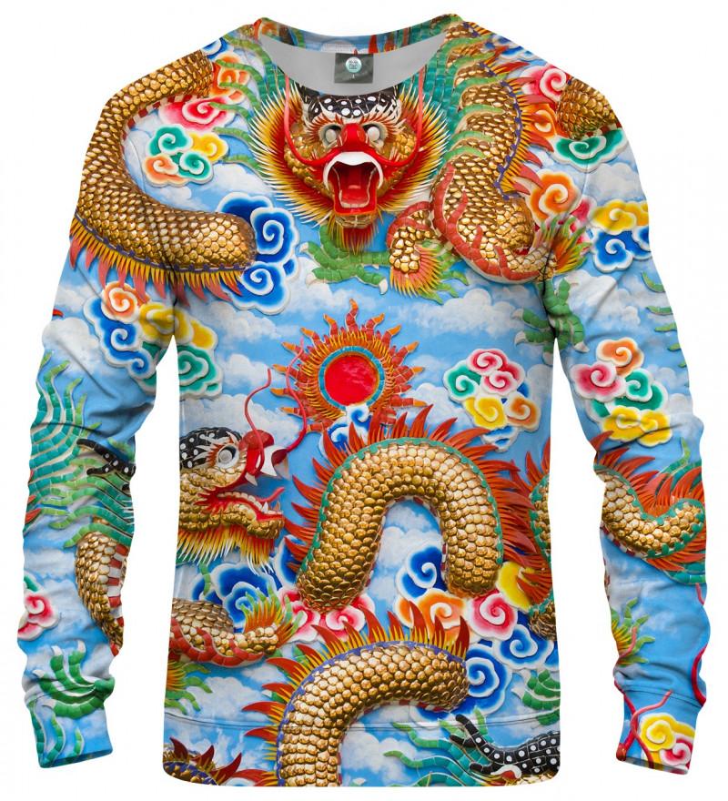 bluza z motywem chińskiego smoka