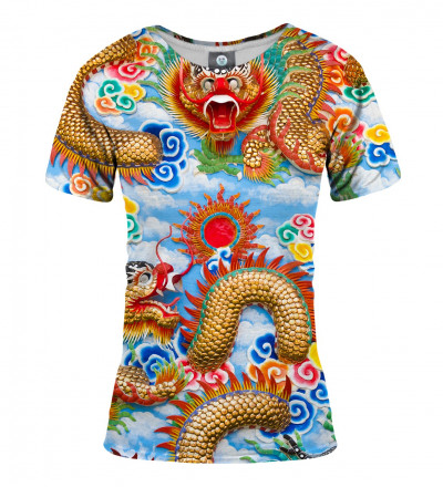 tshirt with china dragon motive