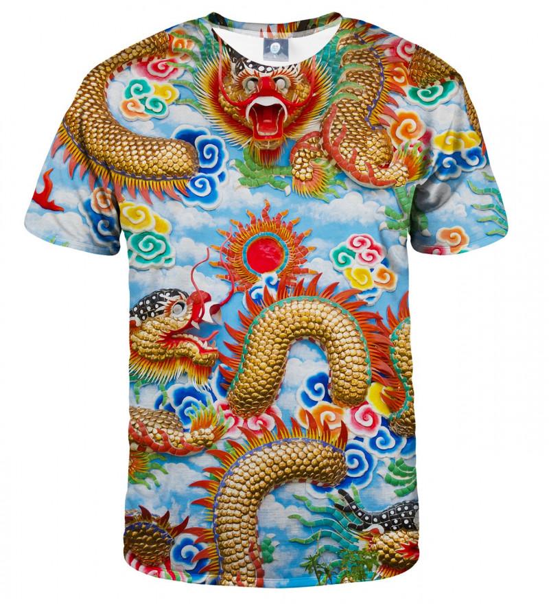 tshirt with china dragon motive