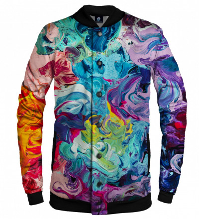 colorful basebal jacket
