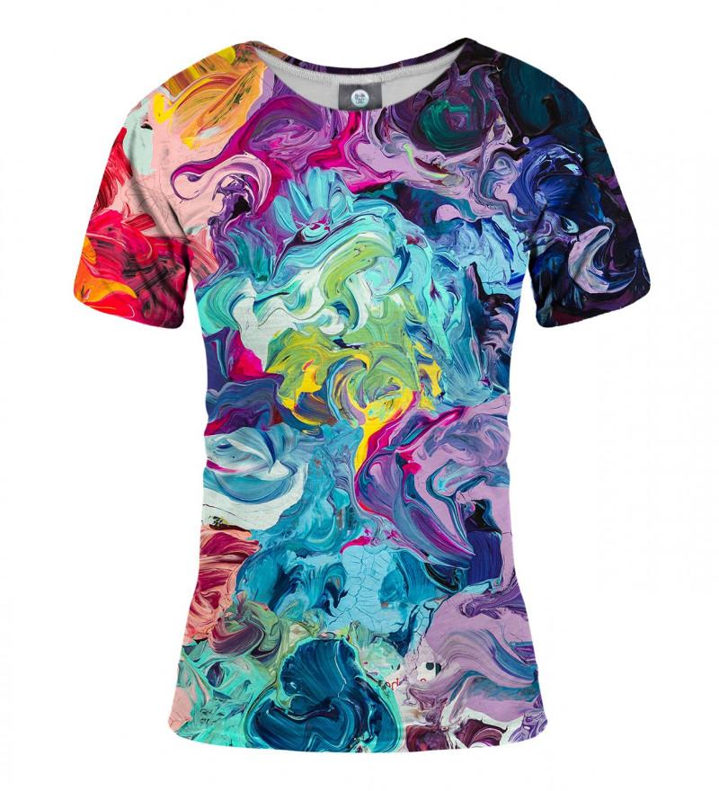 women colorful tshirt