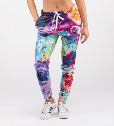 colorful women sweatpants
