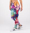 damskie kolorowe spodnie