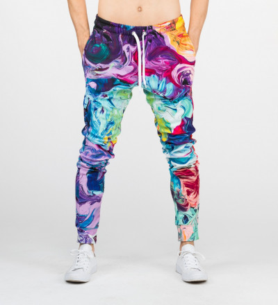 colorful sweatpants