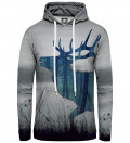 women hoodie with deer motive