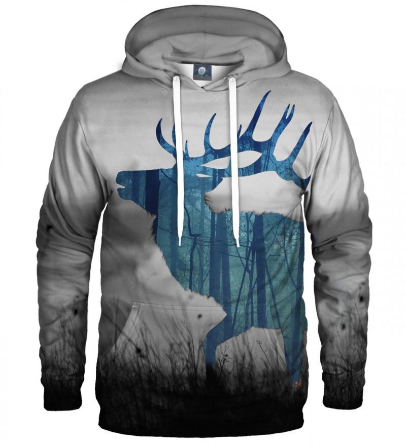 hoodie with deer motive