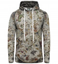 Map of the sky women hoodie, by Albrecht Durer