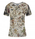 Map of the sky women t-shirt, by Albrecht Durer