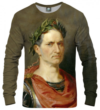 sweatshirt with Julius Cesar motive