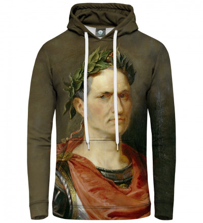 women hoodie with Julius Cesar motive