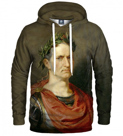 hoodie with Julius Cesar motive