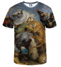 The tiger hunt T-shirt, by Peter Paul Rubens