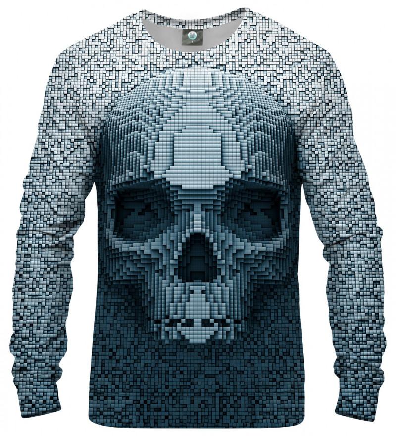 sweatshirt with pixel motive