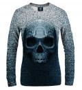 Pixel skull women sweatshirt