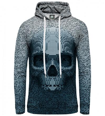 women hoodie with pixel motive