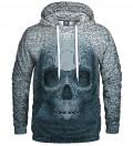 Pixel skull Hoodie