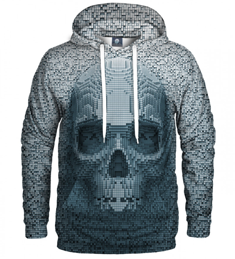 hoodie with pixel motive