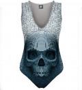 Pixel skull Swimsuit