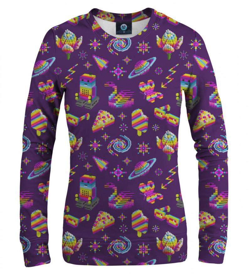 fioletowa bluza