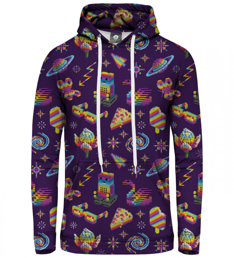 purple women hoodie
